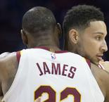 LeBron James sends praise to Sixers stars Ben Simmons, Joel Embiid