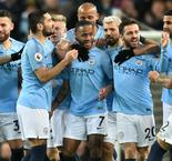 Sterling Raheem bags hat-trick for City