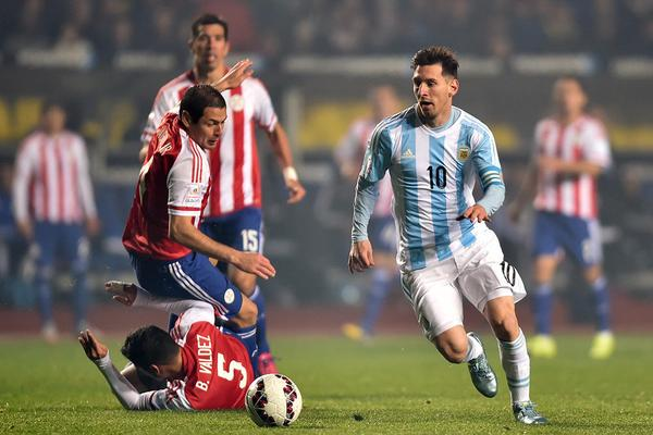Copa America Semifinals in Pictures