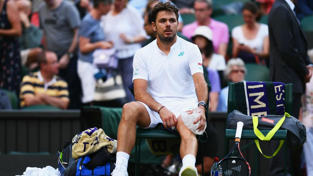 Stan Wawrinka Upset, Andy Murray, Rafael Nadal Win in Monday's Wimbledon Action