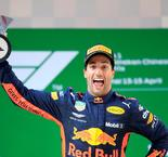 Daniel Ricciardo impecable en el GP de China