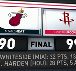 GAME RECAP: Rockets 99, Heat 90