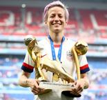 Rapinoe Wins Golden Boot And Golden Ball At Women's World Cup
