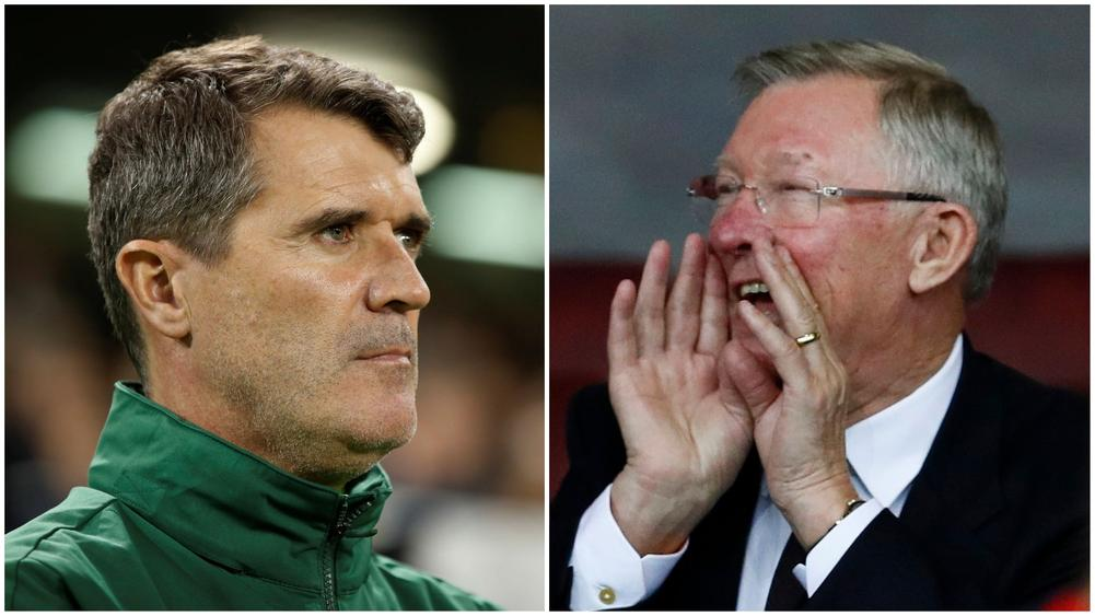 Former Manchester United captain Roy Keane hit out at Alex Ferguson, who led the club to their last league title in 2013.