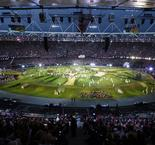 On this day - Royal entrance in dramatic London 2012 opening ceremony