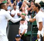 Nadal talks up Kyrgios but questions his desire