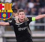 De Ligt Drops Possible Barcelona Hint: It Would Be Good To Play With De Jong