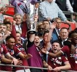Villa back in the big time after tense Wembley win