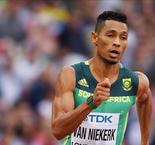 Van Niekerk completes 400m defence with Makwala denied entry