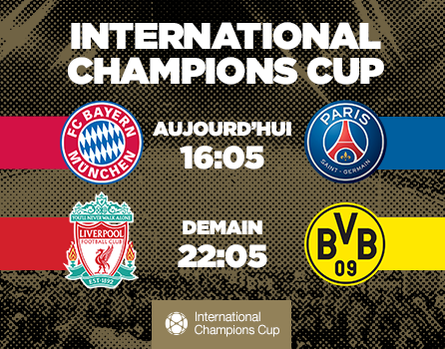 International Champions Cup sur beIN SPORTS