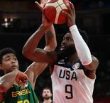FIBA World Cup 2019: Team USA beat Brazil to secure Olympic spot