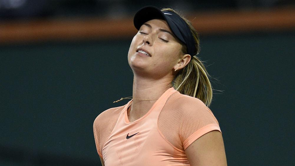 Former world number one Sharapova pulls out of Miami Open