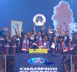 PSG lift Ligue 1 trophy