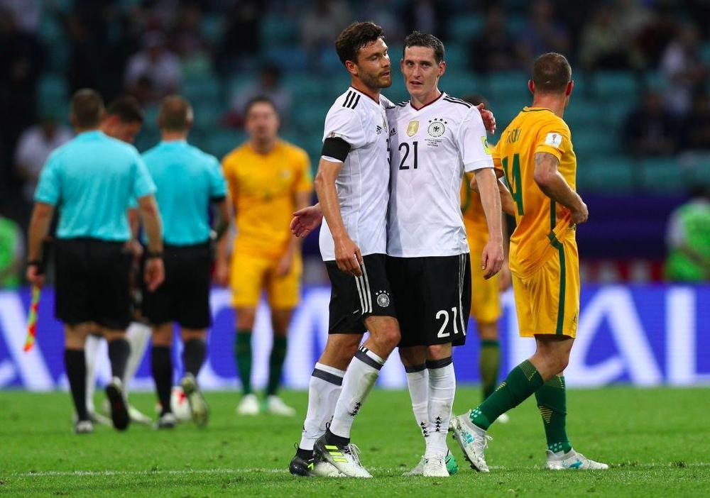 Australia 2-3 Germany