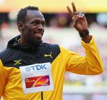 Bolt leads Jamaica home in penultimate race