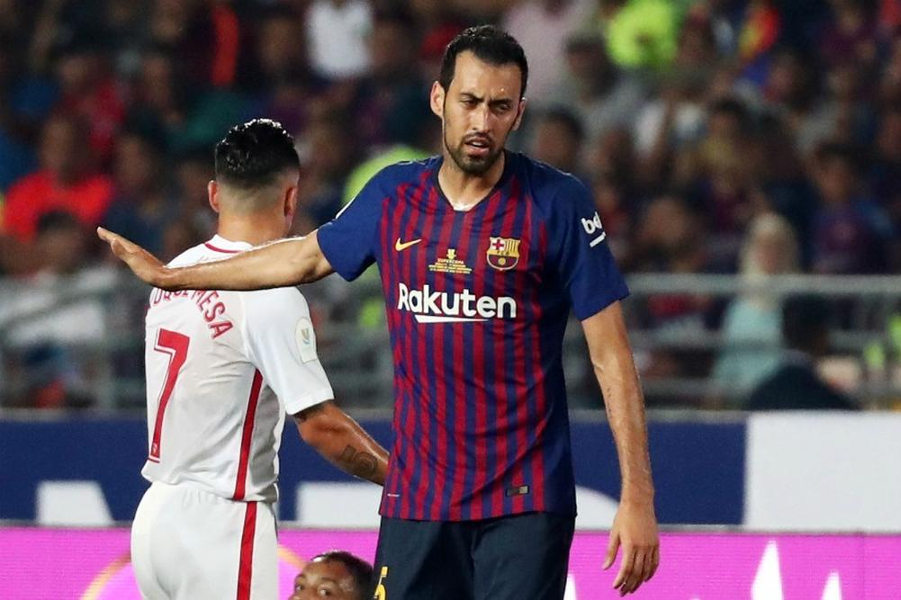 "Barça-Busquets: ""On a dominé tout le match..."""