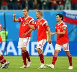 Hosts Russia Nearly Into Next Round With 3-1 Win Over Salah And Egypt