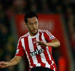 Southampton 2 Aston Villa 1: Yoshida and Pelle fire hosts into last eight