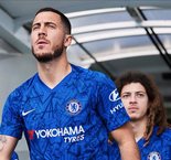 Hazard In Chelsea Kit Launch Amid Real Madrid Rumors