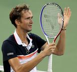 Medvedev blitzes Djokovic to reach Cincy final