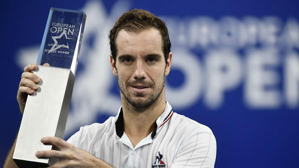 Gasquet beats Schwartzman to win European Open final