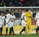 Sevilla 3 Atletico Madrid 1 (5-2 agg): Griezmann stunner not enough for semi spot