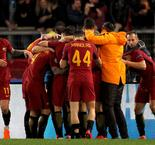 Dzeko hails 'patient' Roma after narrow last-16 win