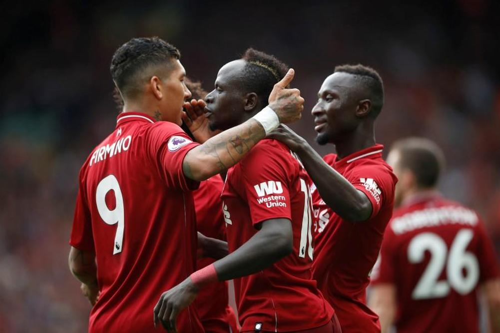 Premier League: Quatre à la suite pour Liverpool
