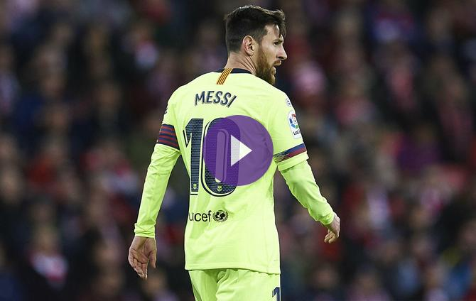 1cc145d56 Athletic Bilbao 0 Barcelona 0  Athletic Club Hold Barcelona To Scoreless  Draw Despite Messi s Return To Starting XI