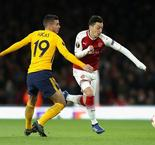 UEFA Europa League:Arsenal 1  Atletico Madrid 1