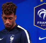 Coman ruled out of Iceland qualifier