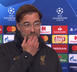 UEFA Champions League - Jurgen Klopp Reaction