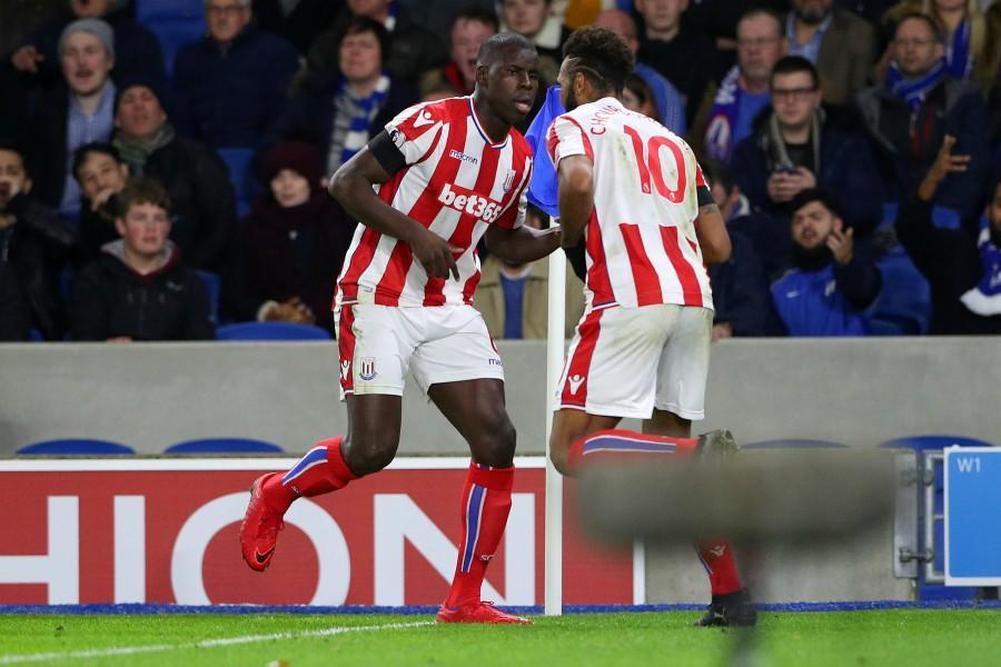 Premier League: Kurt Zouma buteur avec Stoke City