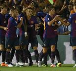Barca new boys click in shootout win over Spurs