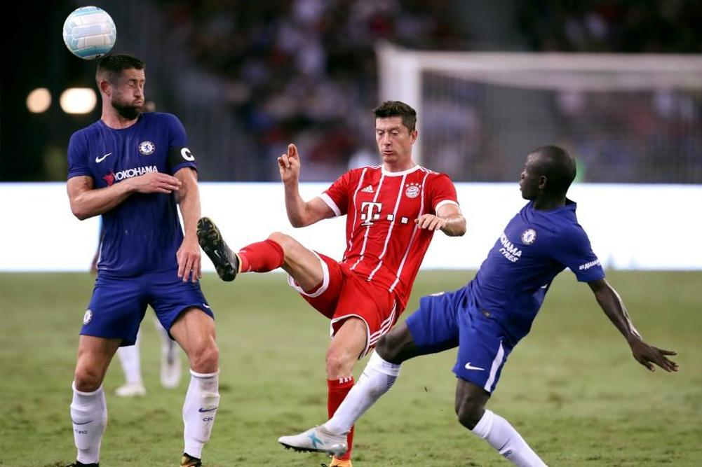Le Bayern s'offre Chelsea — Amical