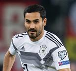 Gundogan ruled out for Germany ahead of crucial Northern Ireland qualifier