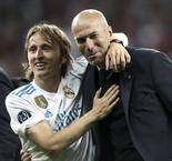 Modric Thanks Zidane After Ballon d'Or Win
