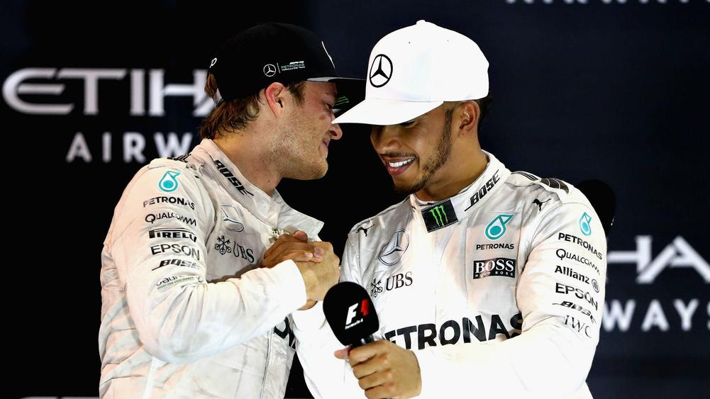 Hamilton reluctantly congratulates new F1 champion Rosberg