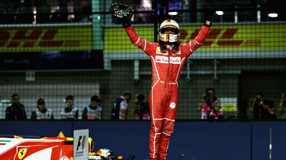 I didn't see that much - Vettel blindsided by early Singapore crash