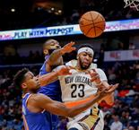 "NBA - Anthony Davis, un ""monster dunk"" qui laisse des traces"