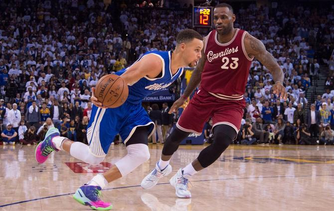 Curry Out For Warriors' Christmas Day Rematch With Cavs
