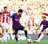 La Liga: Barcelona 1 Athletic Bilbao 1