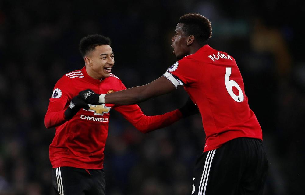 Manchester United defeat Everton for first victory in five matches