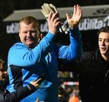 Pie-eating Sutton goalkeeper's antics under investigation
