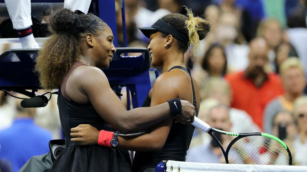 Serena shifts focus to Osaka after US Open final meltdown