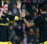 Carrasco at the double as Atletico hits six