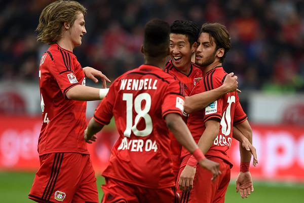 Bayer 2 - 0 Bayern Munich