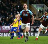 Late penalty salvages a point for Burnley