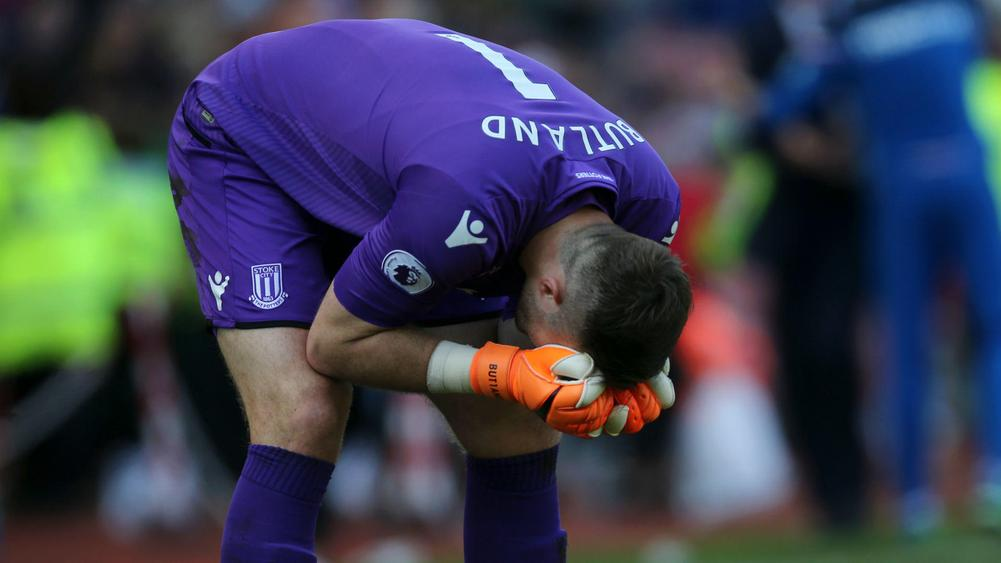 Butland unacceptable farcical signings contributed to for Farcical run out