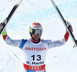 Beat-ing Feuz proves impossible in St Moritz